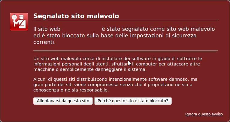 Rimozione Malware da Siti web