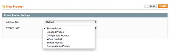 Configurazione Prezzi Magento creazione prodotto